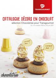 Transgourmet - Décors en chocolat, sélection Chocolatree pour Transgourmet