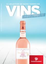La sélection de vins printemps-été de votre sommelier
