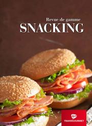 Revue de gamme Snacking