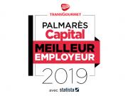 Transgourmet distinguée du label « Meilleur Employeur 2019 » dans son secteur d'activité par Capital Magazine !
