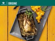 Recette - Caille de Challans rôtie au foin, Transgourmet Origine