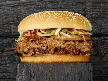 Transgourmet - Recette Pulled duck Burger