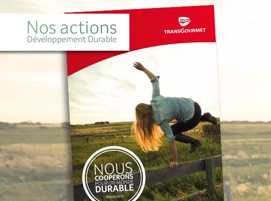 L'édition 2019 de notre livret  Développement durable vient de paraître !