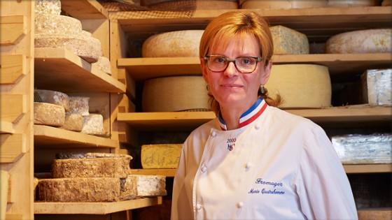 Séléction Marie Quatrehomme, MOF Fromager - Transgourmet, distributeur alimentaire