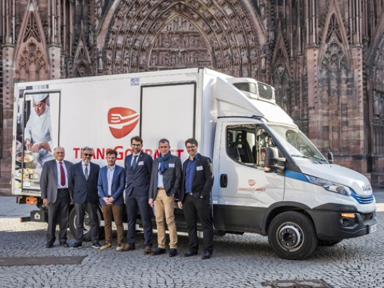 Conférence Strasbourg - Camions GNV